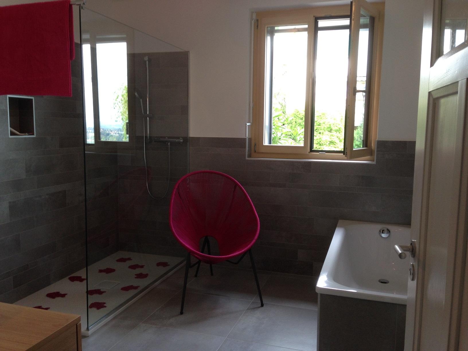 Clos soleil l appartement for Douche italienne appartement